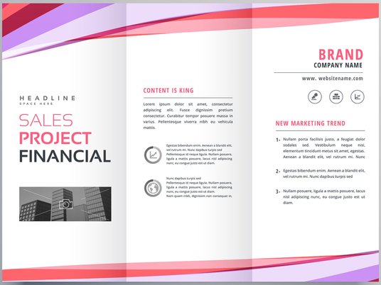 I will Design Professional Trifold Brochure or Flyer