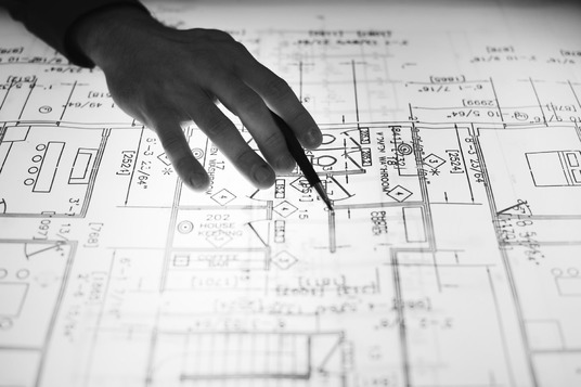 I will Do Autocad Floorplan Or Blueprint Full Architectural Drawing