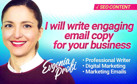 I will write an elegant marketing email for your business that will bring you conversions