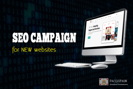 I will do SEO Campaign for NEW Websites - 1st Page Pusher