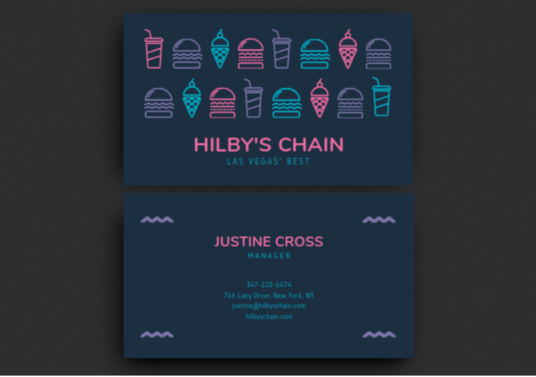 I will Design Minimalist Business Card In 24 Hrs
