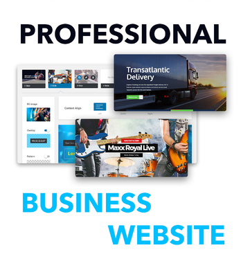 create a business website, wordpress business website