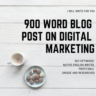 write a blog on Digital Marketing that is SEO friendly