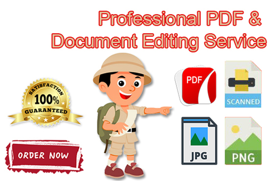I will Edit Or Upgrade Design Any Jpeg, Pdf, Invoice Document