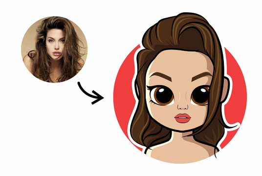 Create Cute Big Eyes Cartoon from Your Photo