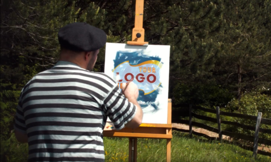 I will draw paint art Logo or Portrait commercial video for your social media brand