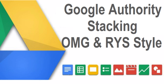 I will Create An Amazing Google Authority Stack