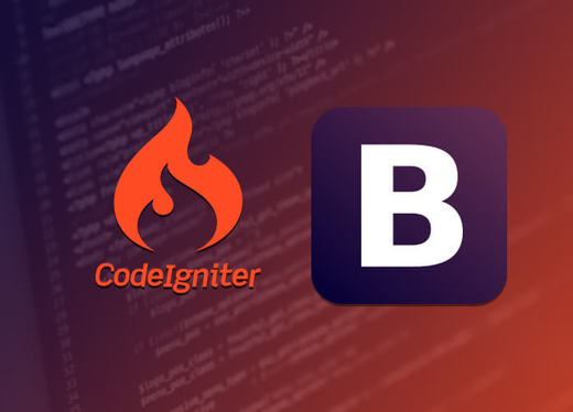 convert Bootstrap template to Codeigniter PHP