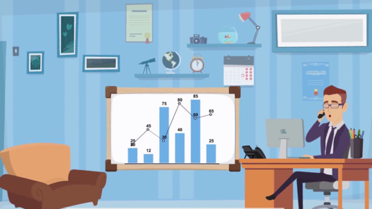 create 2d animation explainer video for your business
