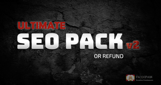 I will do Ultimate SEO PACK Pacospain Version 2