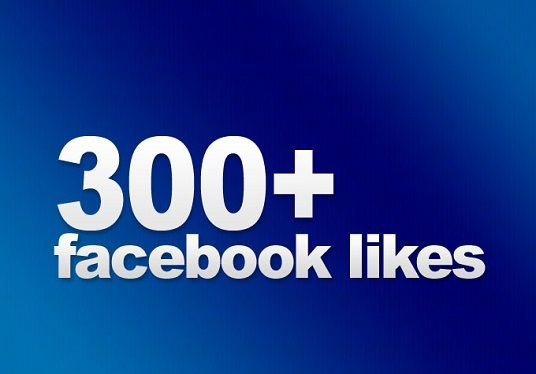 I will Give You 300+ Facebook Fanpage likes or Followers