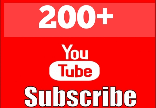 I will send you 200+ Youtube Subscribers
