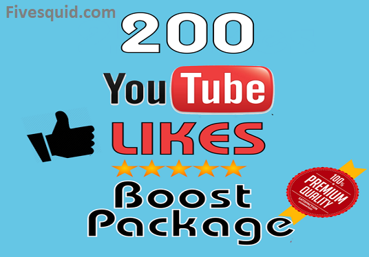 I will Give You 200 Nondrop Youtube Likes