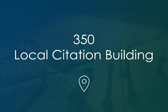 I will Create 350 High Quality Citations For Google Map