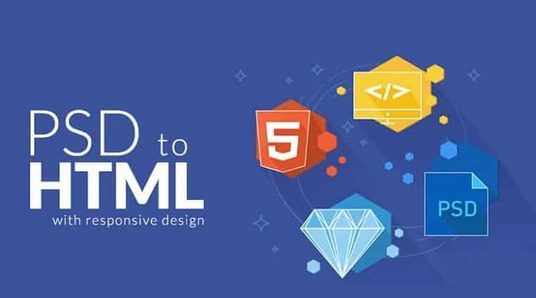 I will convert PSD To Html, Sketch, Xd, Ai, Png To Bootstrap Responsive