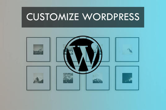customize wordpress website