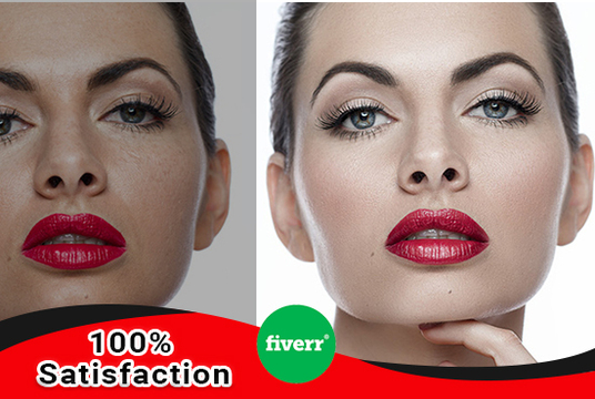 Retouch And Clean Up Model Photo, Headshot, portrait image