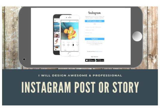 I will Design Awesome And Professional 3 Instagram Post Or Story Images