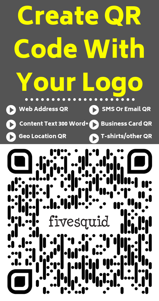 I will Create Personalized Print Ready QR codes Or Barcodes With Your Logo
