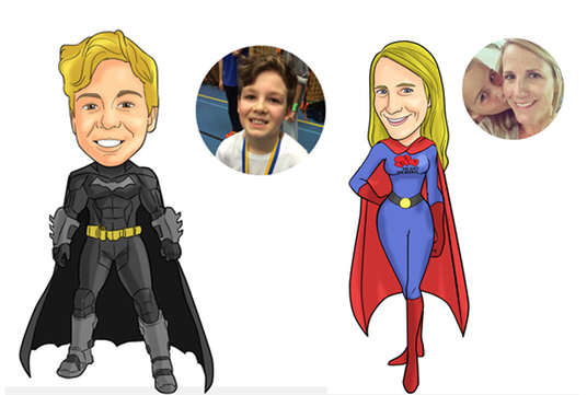 I will Create your photo into a Super Hero Caricatures