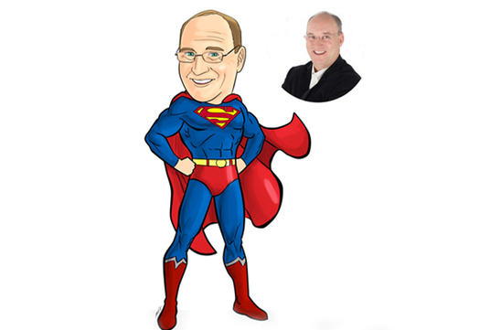 Create your photo into a Super Hero Caricatures