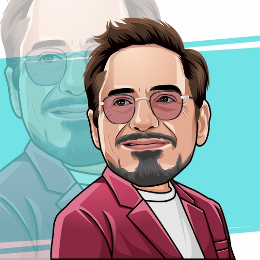 I will Draw Your Portrait Into A Bighead Caricature Cartoon For Your Avatar In 24 Hour
