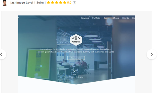 Convert Psd,Sketch To Responsive HTML Template