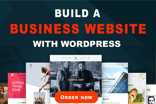I will Build Wordpress Business Website, Online Store, Landing Page