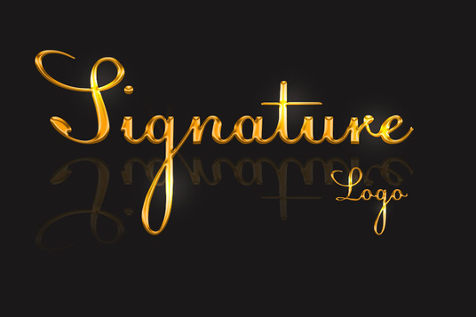 I will design signature logo