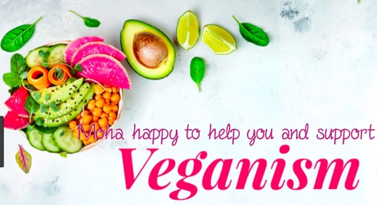 support and help people who want to go vegan
