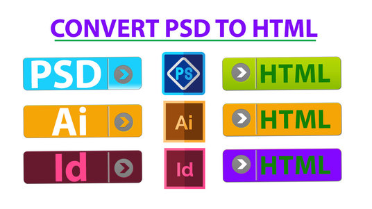 I will Convert Sketch, Xd, Psd To Html Responsive Bootstrap 4
