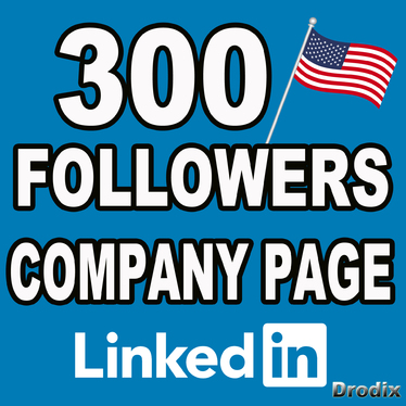 cccccc-I give you 300 real Linkedin followers on company pages - USA