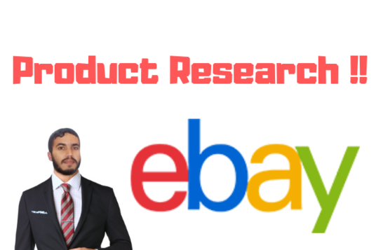 I will Research 100 Profitable Products For Ebay Dropshipping