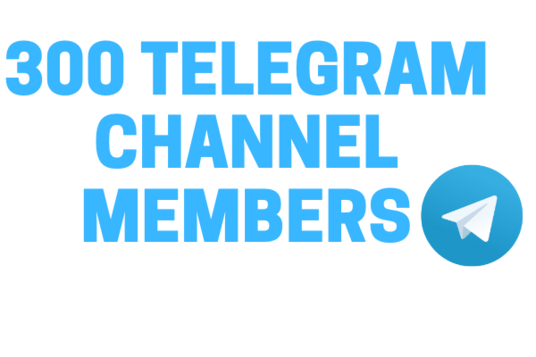 I will 300 Real High-Quality Telegram Channel Members