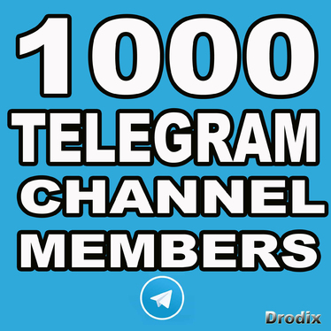 Provide You 1000 Telegram Channel Members