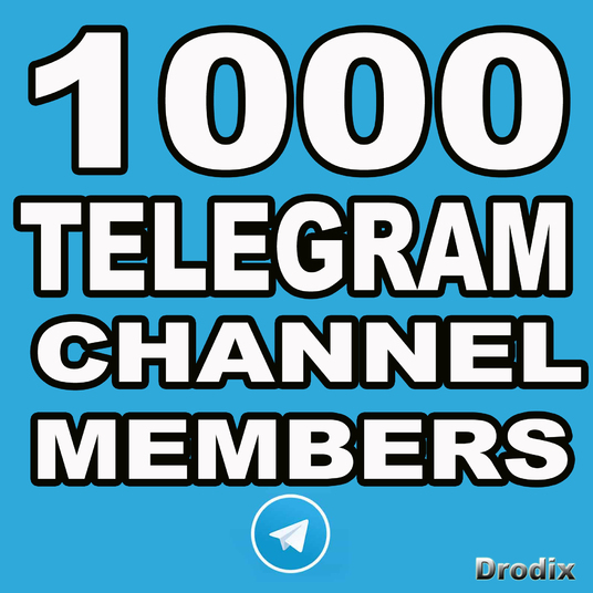 I will Provide You 1000 Telegram Channel Members