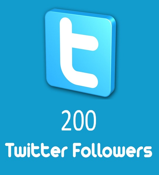 I will provide 200 Twitter Followers