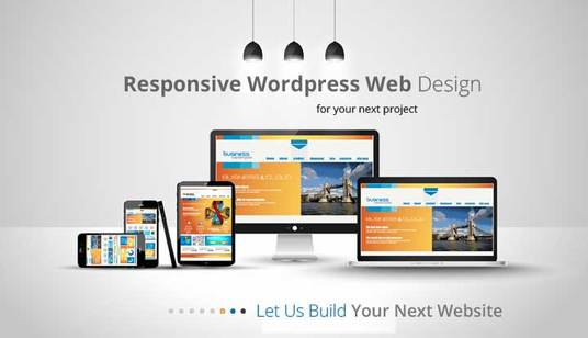 I will design Responsive Wordpress Website Or Wordpress Website Design