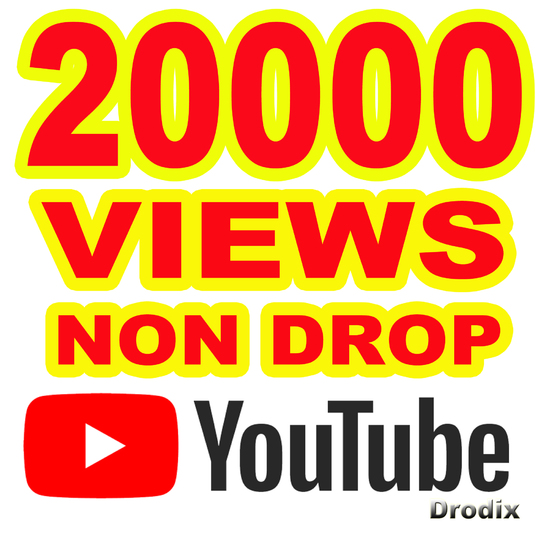 I will provide 20000 Views YouTube Non Drop