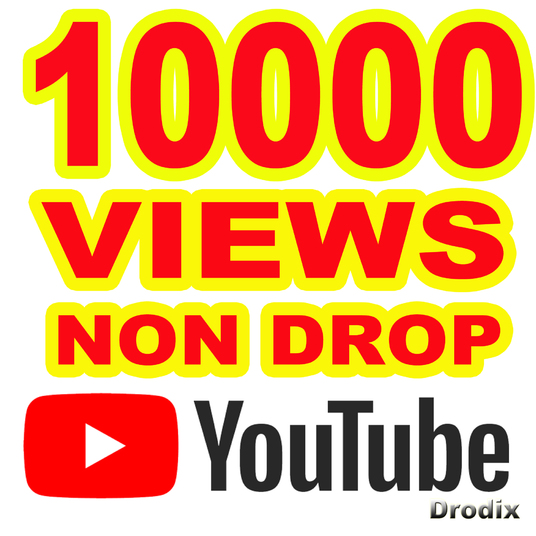 I will provide 10000 Views YouTube Non Drop