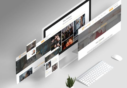 design a creative and professional website
