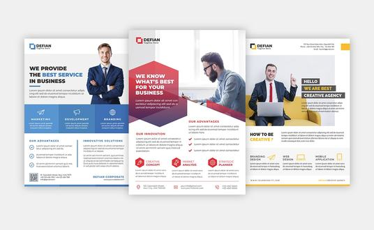I will Design Corporate Flyer
