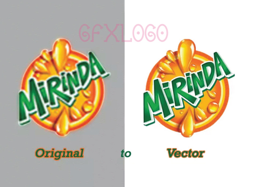 I will  raster to vector your logo super fast