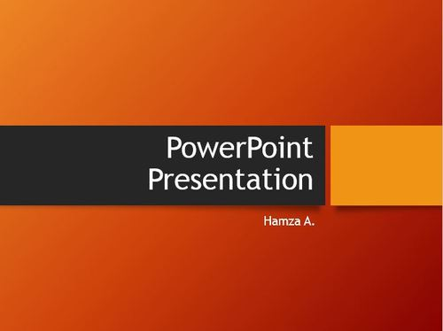 prepare Business Presentations   on PPT