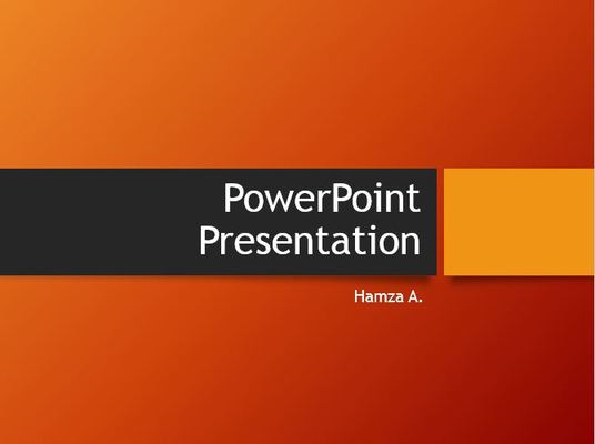 I will prepare Business Presentations   on PPT