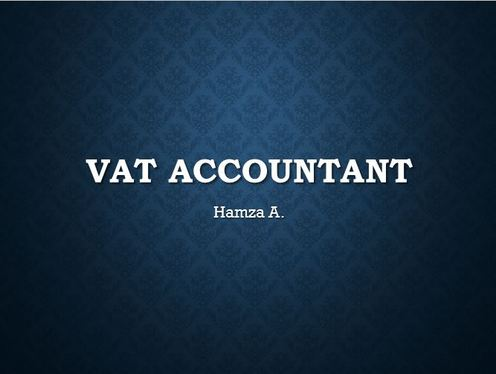 do Book keeping and prepare your VAT returns