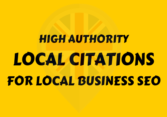 I will create 30 high authority local citations for UK local business SEO