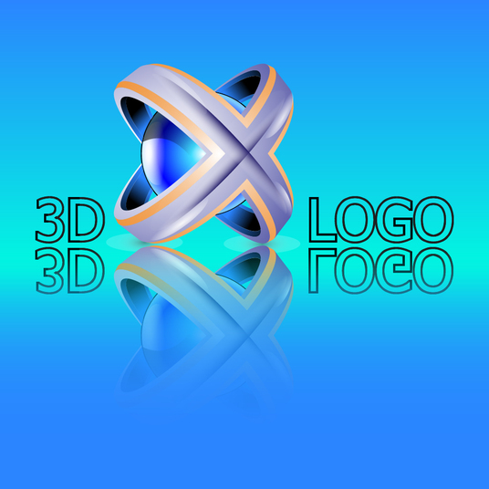 I will design 3D logo icons for your website and your apps