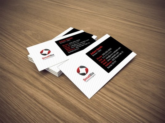 I will do smashing Professional double sided business card