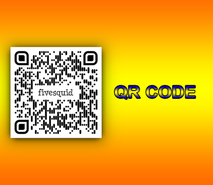 Create 5 Stylish QR Codes